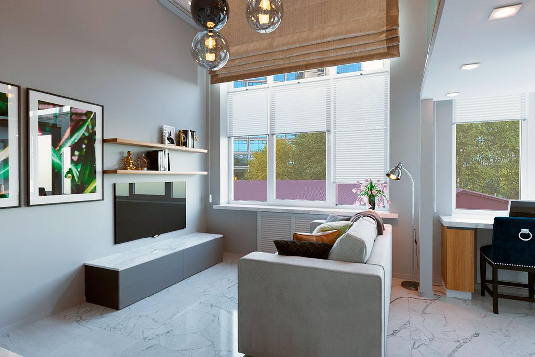 Дизайн апартаментов в Сочи